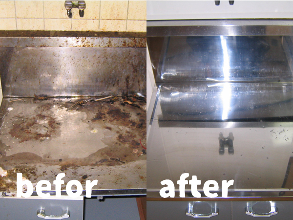 熊本のキッチン清掃