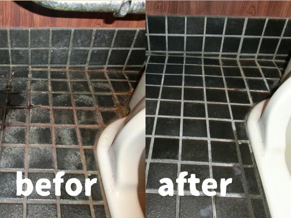熊本のトイレの清掃ビフォーアフター