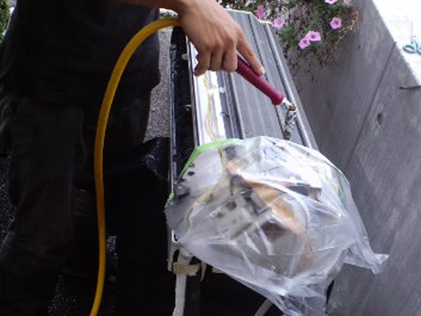熊本のエアコン清掃本体洗浄