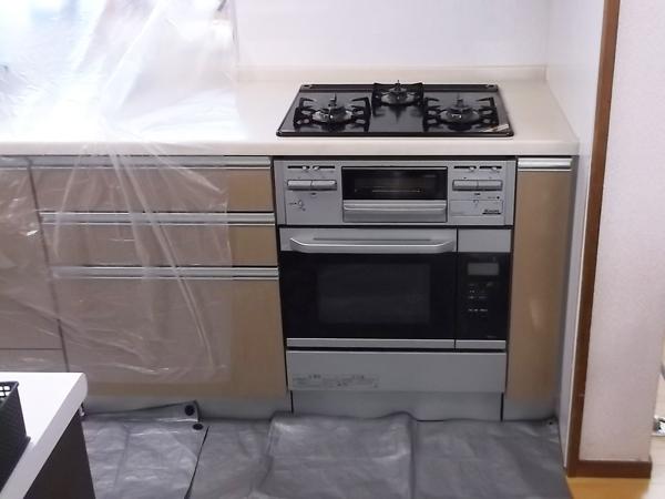 熊本のキッチン清掃シンク磨き