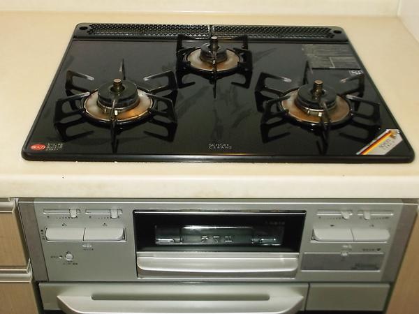 熊本のキッチン清掃コンロシンク磨き
