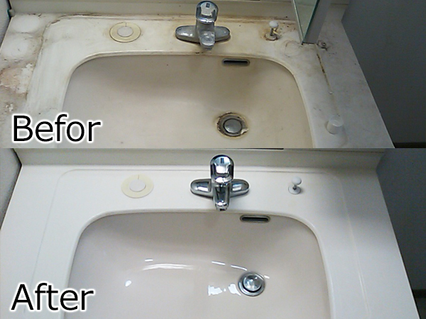 洗面台ビフォーアフター