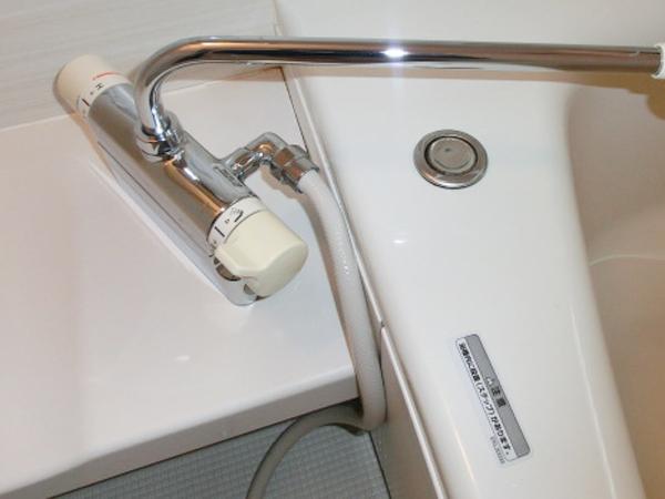 熊本の浴室清掃蛇口もピカピカ